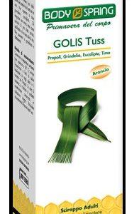 BODY SPRING GOLIS TUSS SCIROPPO 170 ML