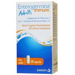 ENTEROGERMINA IMMUNO ADULTI 20 COMPRESSE