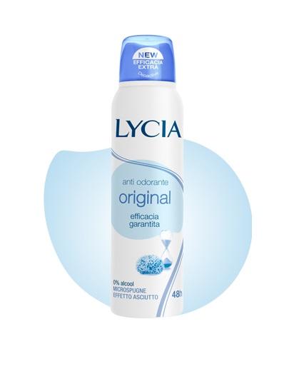 LYCIA SPRAY GAS ANTI ODORANTE ORIGINAL 150 ML