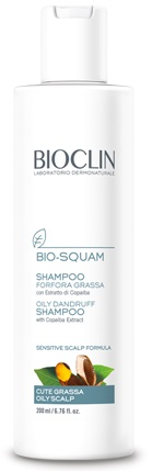 BIOCLIN BIO SQUAM SHAMPOO FORFORA GRASSA 200 ML