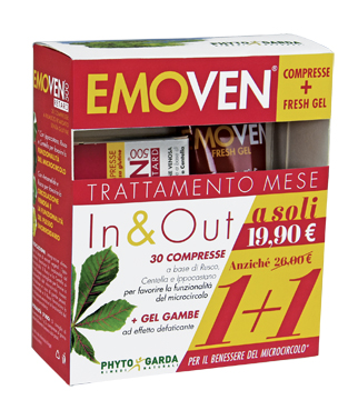 EMOVEN KIT 1 FRESH GEL + 30 COMPRESSE
