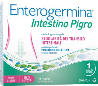 ENTEROGERMINA INTESTINO PIGRO 10 BUSTINE