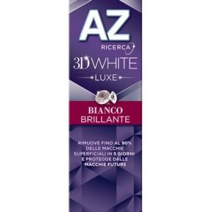 AZ DENT 3D WHITE LUXE BIANCO BRILLANTE 75 ML