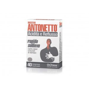 DIGESTIVO ANTONETTO 40 COMPRESSE MASTICABILI