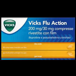 VICKS FLU ACTION*12 cpr
